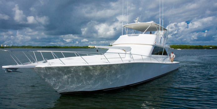 Luxury Fishing Charter on a 65' Viking Sportfish