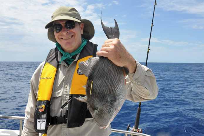 Triggerfish Fishing