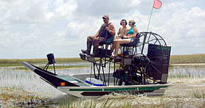 Everglades Airboat Fishing